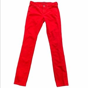 Limited edition Banana Republic Skinny Red Cords 0